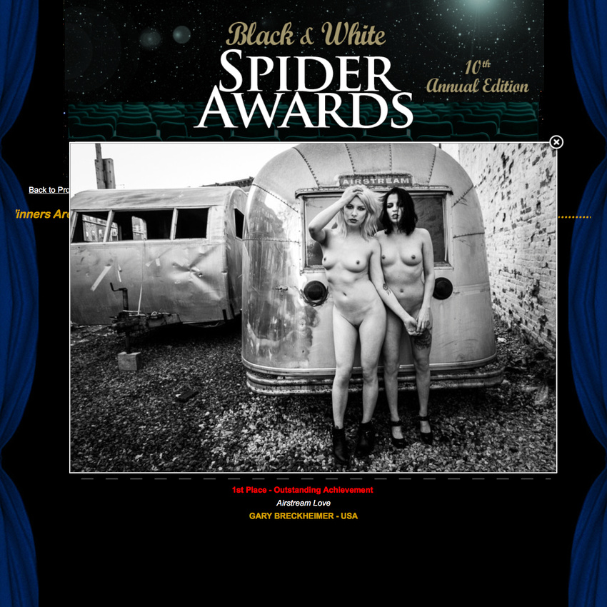 10TH ANNUAL BLACK AND WHITE SPIDER AWARDS
